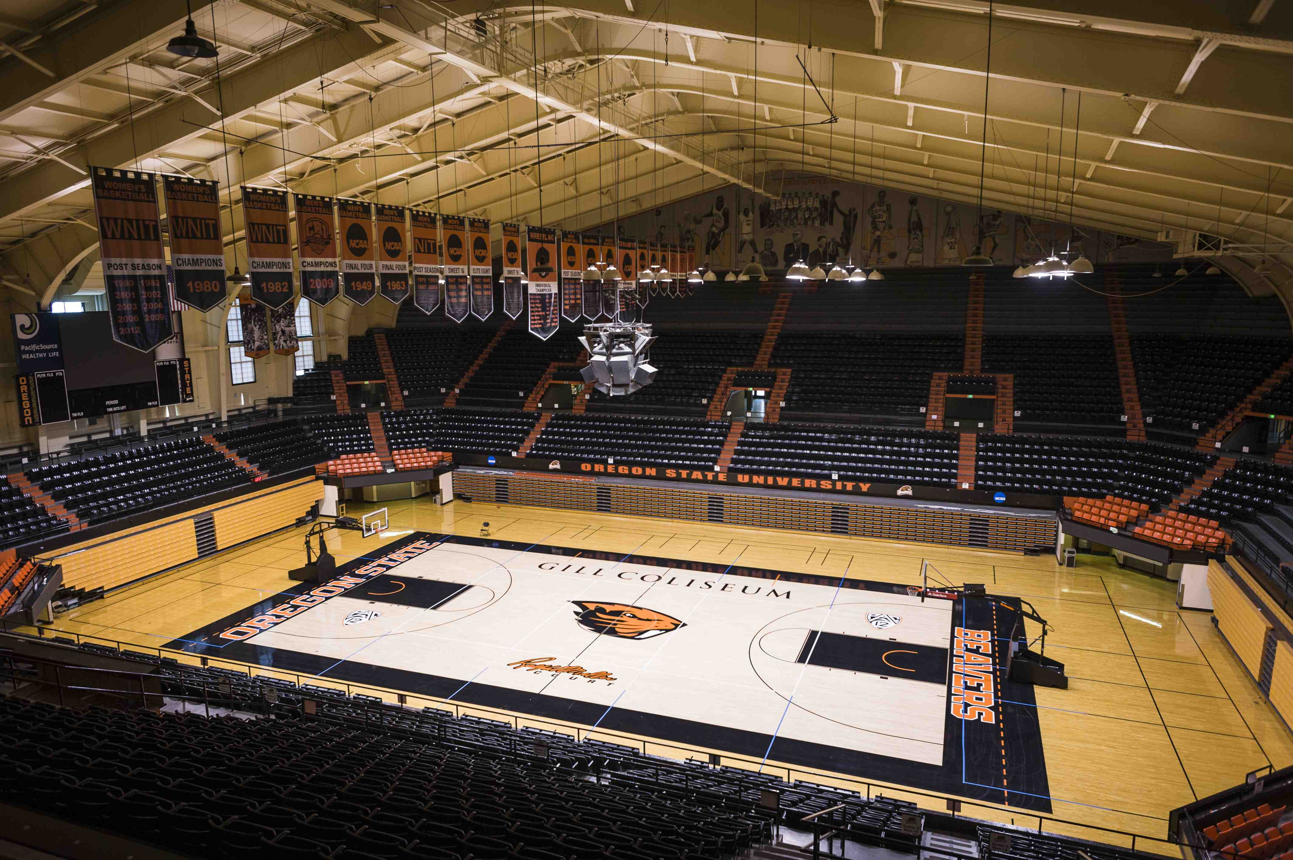 Gill Coliseum Is The Competitive Home Of The Oregon State Menu0027s Basketball,  Womenu0027s Basketball, Womenu0027s Gymnastics, Wrestling And Volleyball Teams.